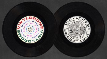 Vinyldrome flyer by Spunkflakes