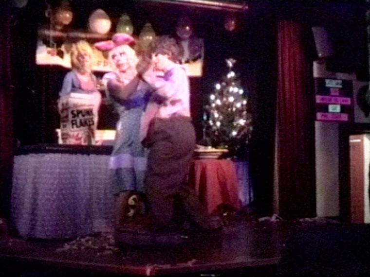 Family Dancing for Christmas