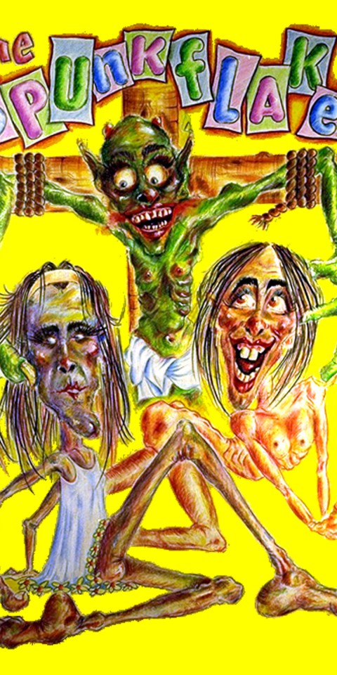1994-05-29-SF-Spunkflakes-Crucify-poster